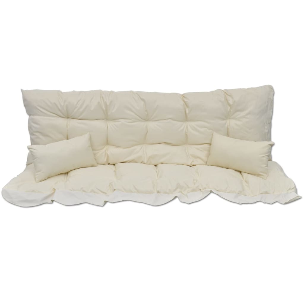 cushion for swing chair hammock outdoor cushions cream. Black Bedroom Furniture Sets. Home Design Ideas