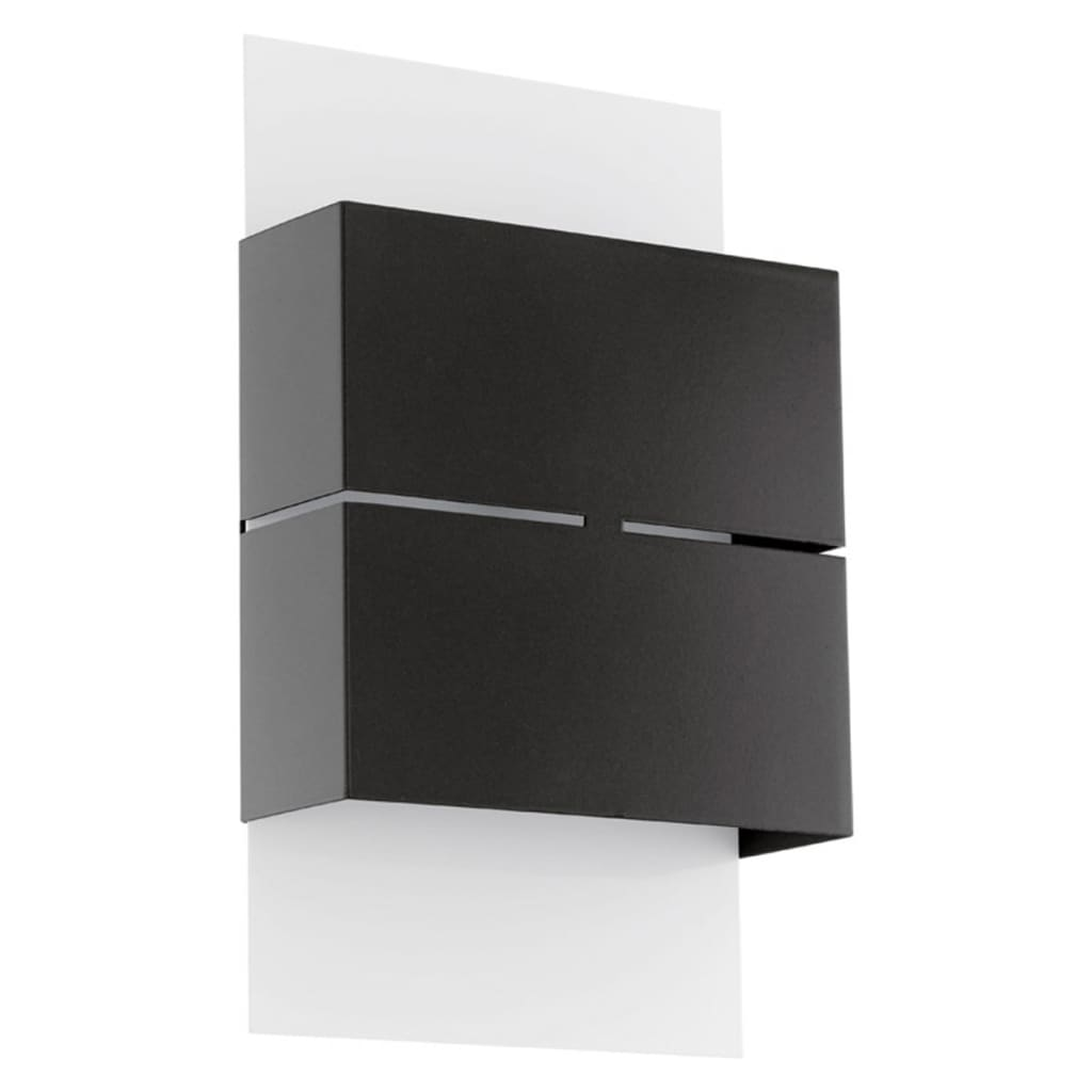 eglo lampe murale led d 39 ext rieur kibea 5 w anthracite. Black Bedroom Furniture Sets. Home Design Ideas