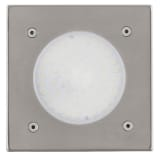 EGLO Outdoor LED Inground Spotlight Lamedo 2.5 W Square Silver 93481
