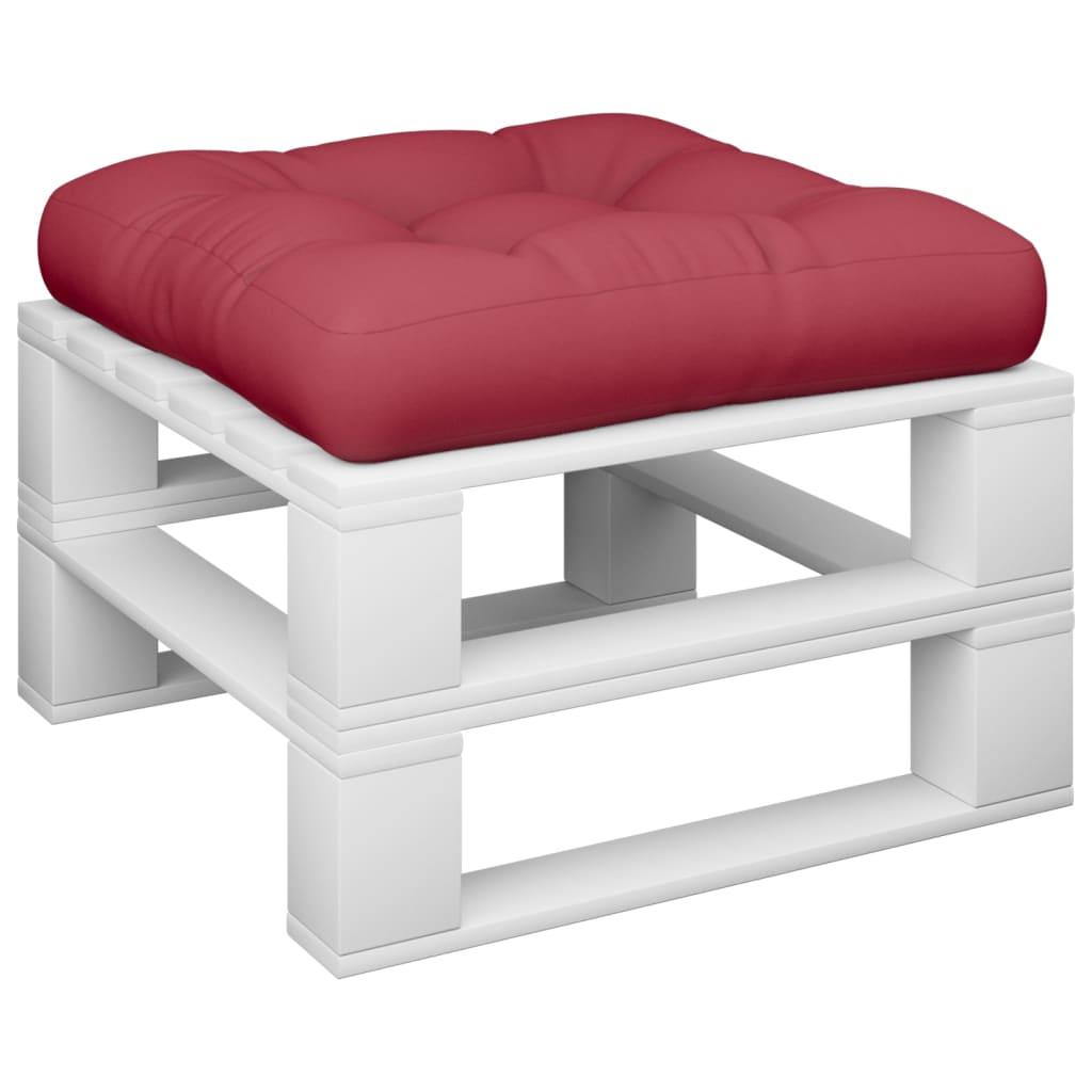 acheter coussin rouge vineux 50 x 50 x 10 cm pas cher. Black Bedroom Furniture Sets. Home Design Ideas