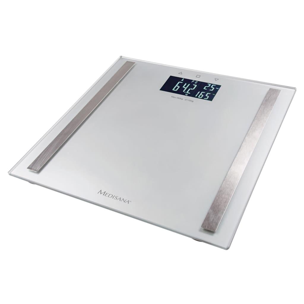 medisana lichaamsanalyse weegschaal bs 482 180 kg zilver 40438 online kopen. Black Bedroom Furniture Sets. Home Design Ideas