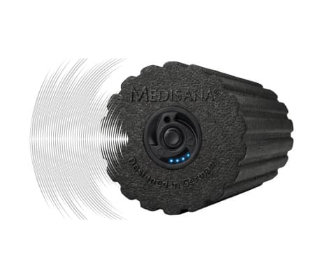 Medisana rouleau de massage vibrant powerroll pro 15x31 - Matelas de massage chauffant et vibrant medisana ...