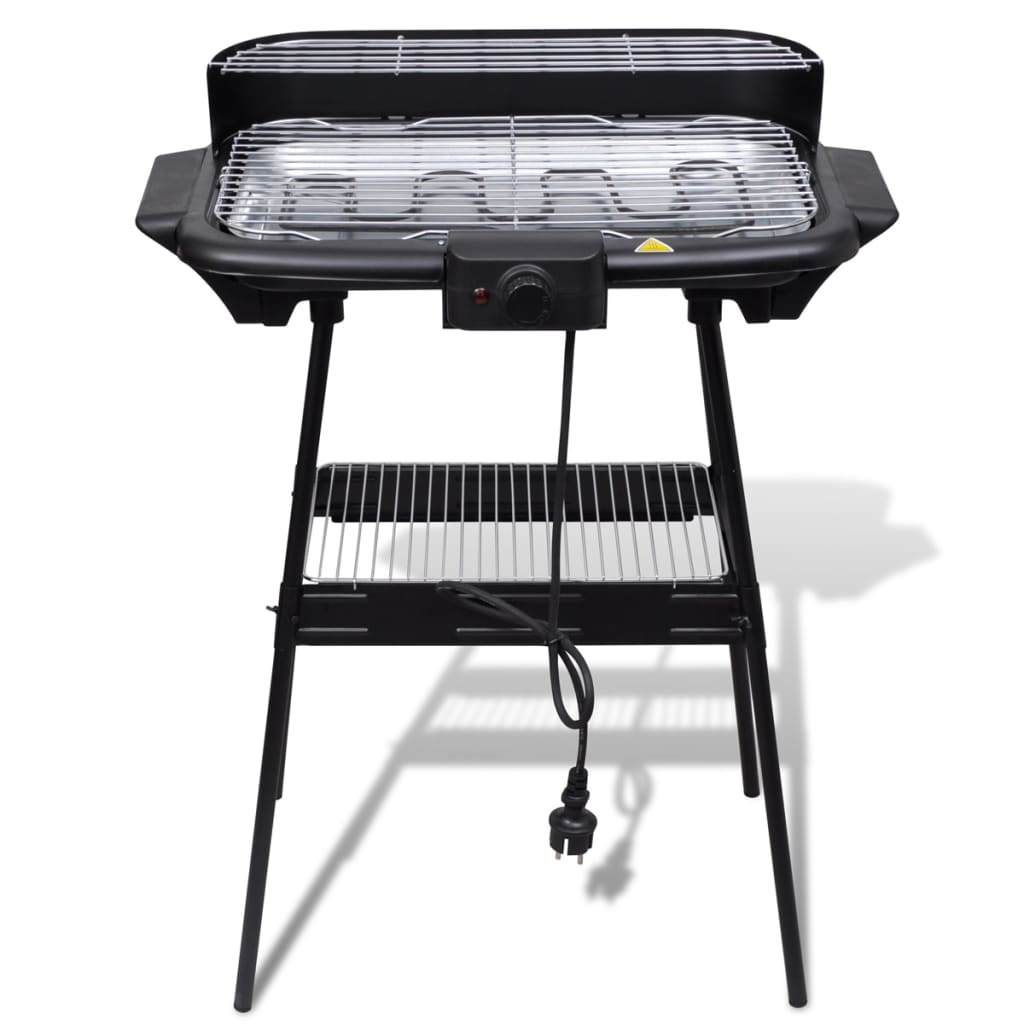 rectangular barbecue electric bbq stand. Black Bedroom Furniture Sets. Home Design Ideas