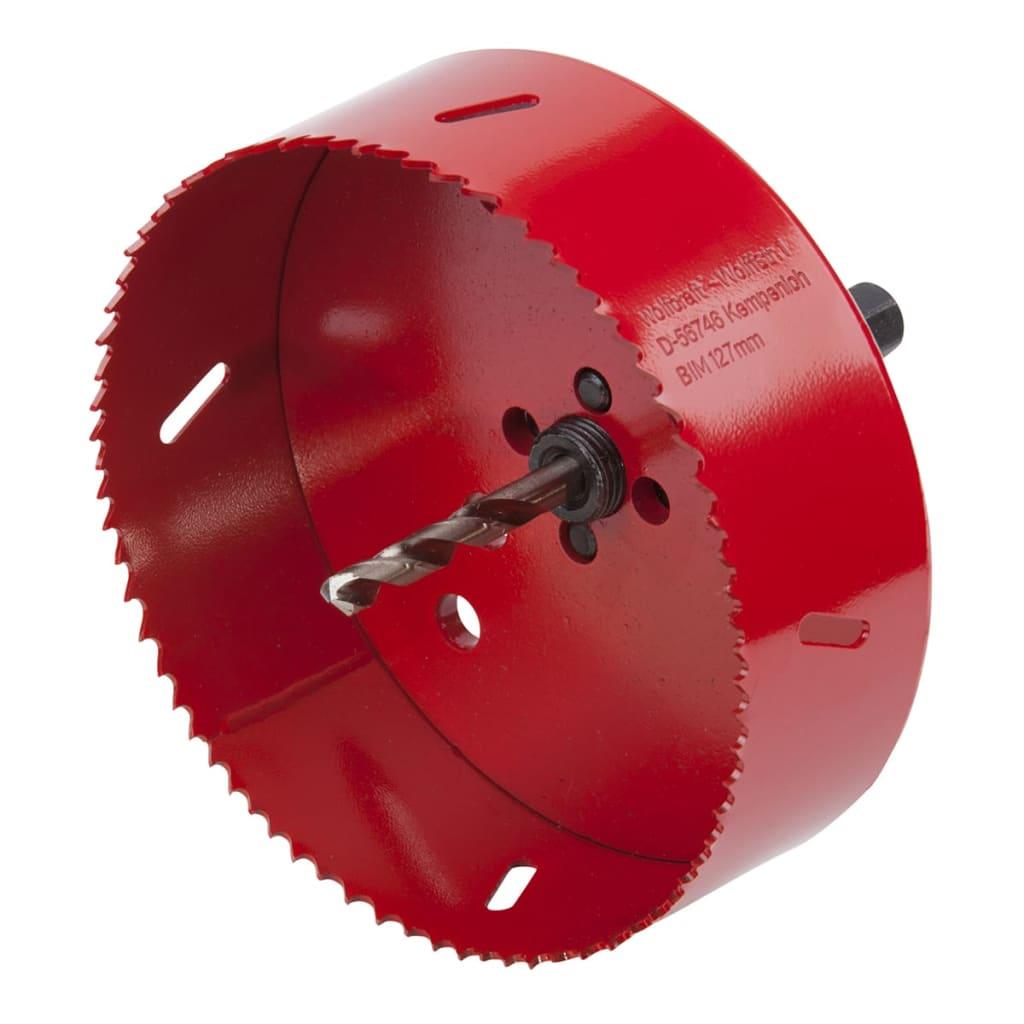 La boutique en ligne wolfcraft scie cloche 127 mm rouge for Scie cloche carrelage la rochelle