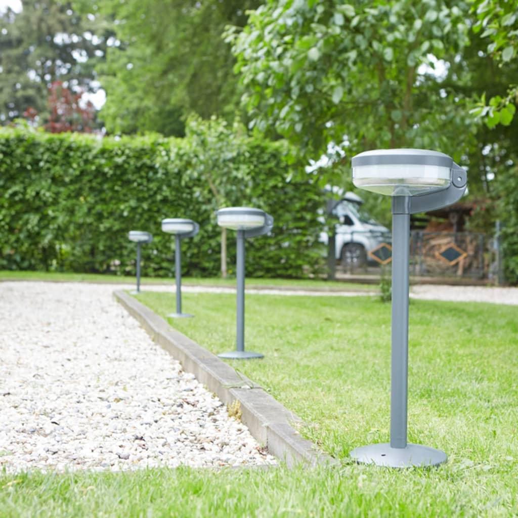 acheter luxform borne led lumineuse solaire montana anthracite pas cher. Black Bedroom Furniture Sets. Home Design Ideas