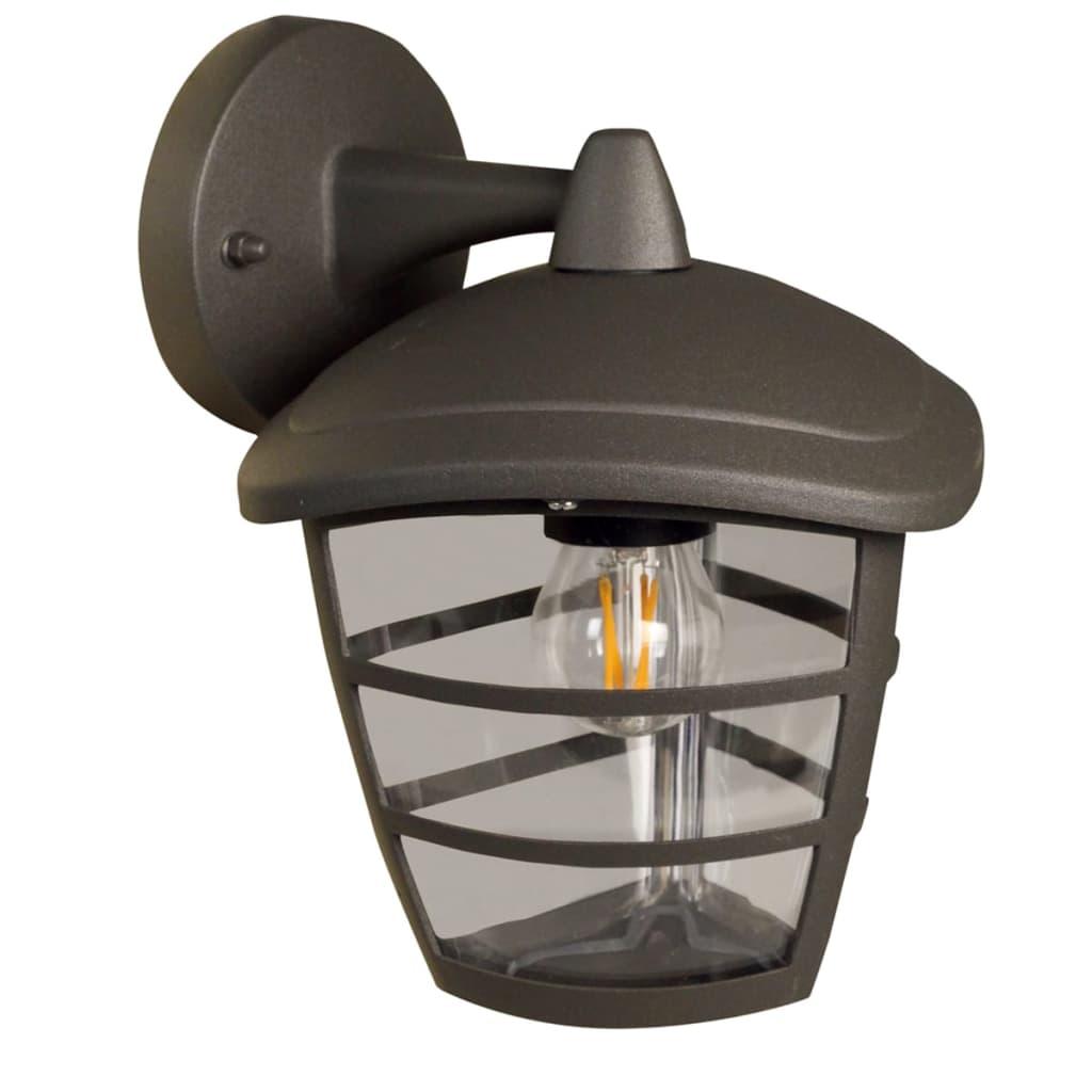 Luxform Antracit Brüsszel Down fali lámpa LUX1603Z