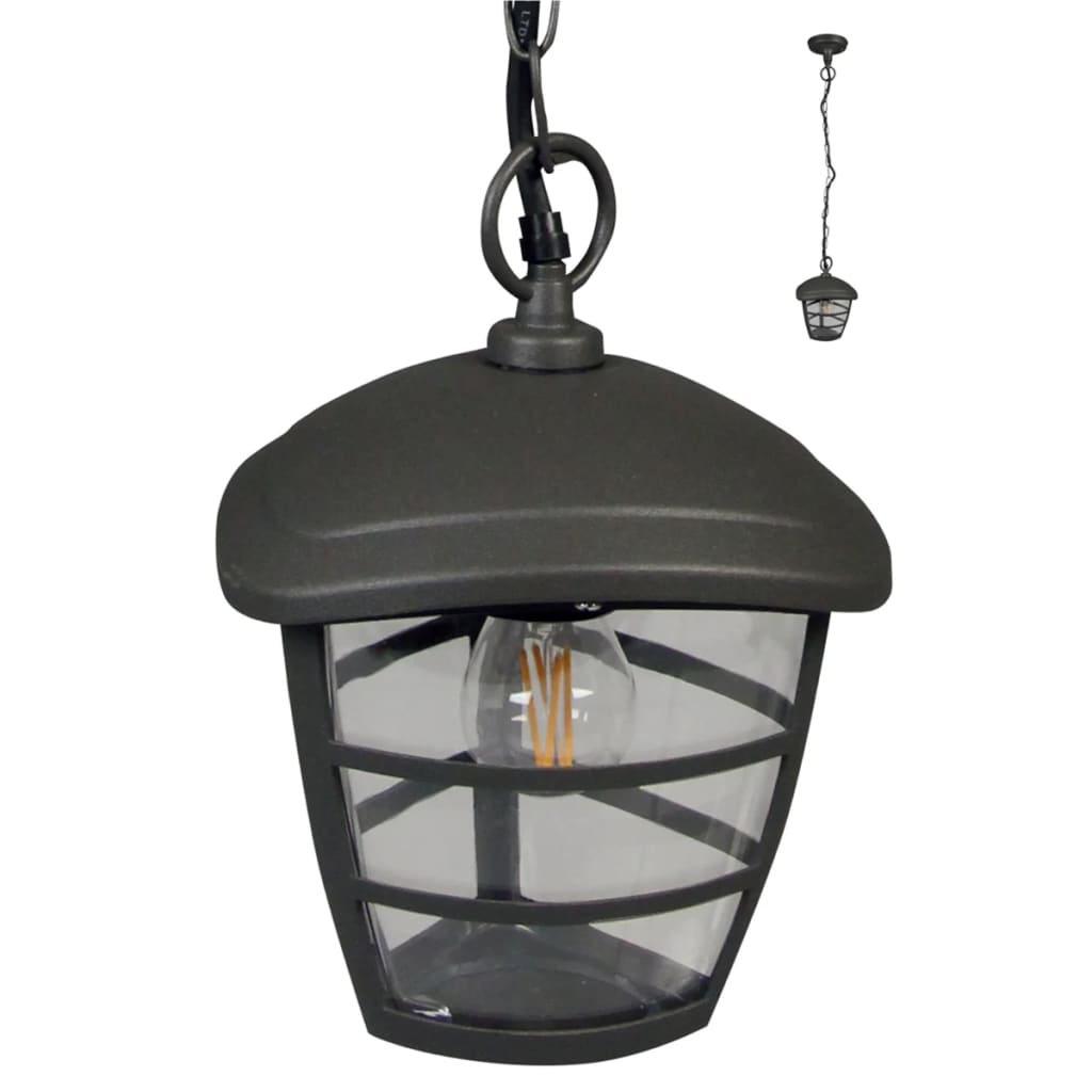Luxform Antracit Brüsszel függő lámpa LUX1605Z