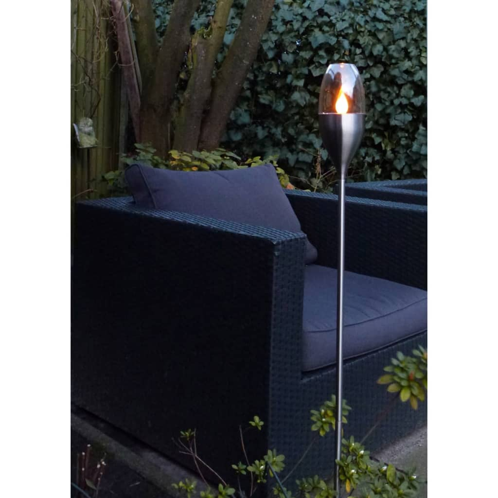 acheter luxform lampe solaire de jardin bougie torche 2. Black Bedroom Furniture Sets. Home Design Ideas