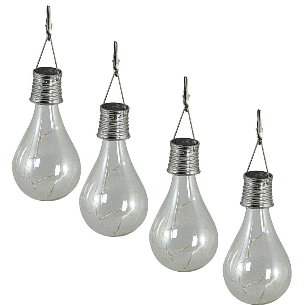 acheter luxform lampe solaire led pour f te transparente 4 pi ces pas cher. Black Bedroom Furniture Sets. Home Design Ideas
