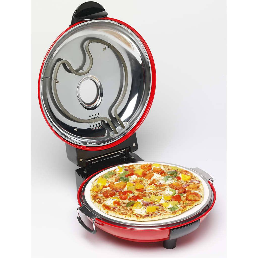 acheter bestron four pizza avec pierre 1000 w rouge dld9070 pas cher. Black Bedroom Furniture Sets. Home Design Ideas