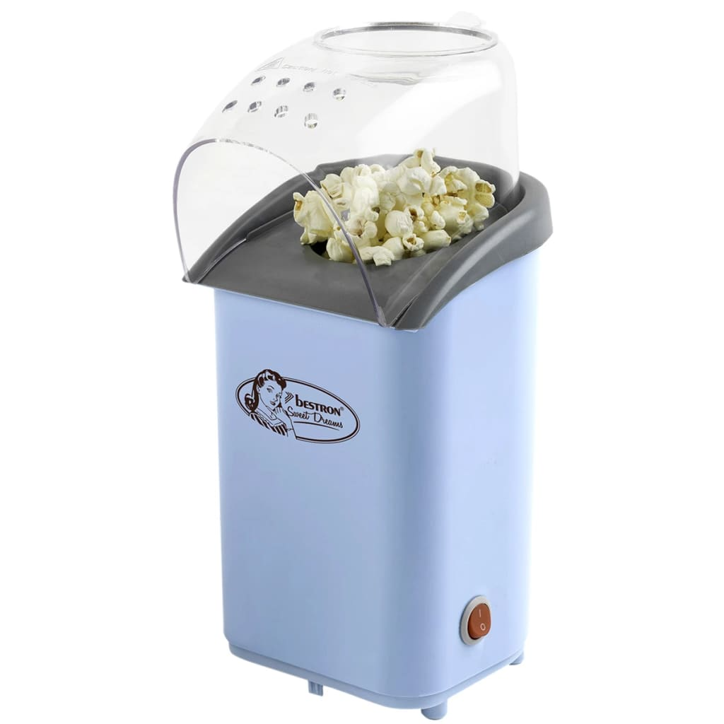 acheter bestron machine pop corn bleue 1100 w apc1003 pas cher. Black Bedroom Furniture Sets. Home Design Ideas