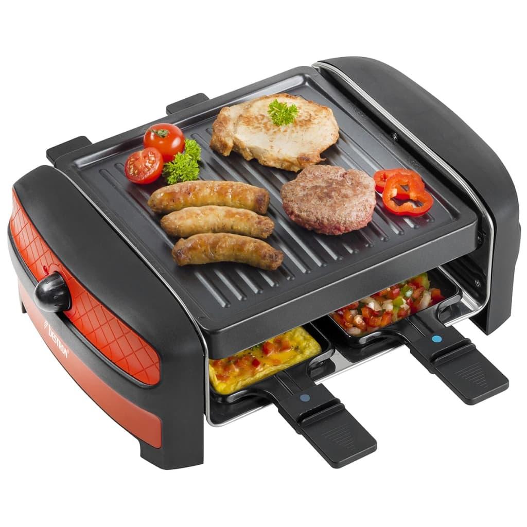 bestron raclette grill 600 w arc400 g nstig kaufen. Black Bedroom Furniture Sets. Home Design Ideas