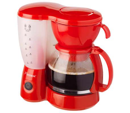 acheter bestron cafeti re rouge 800 w acm6081r pas cher. Black Bedroom Furniture Sets. Home Design Ideas