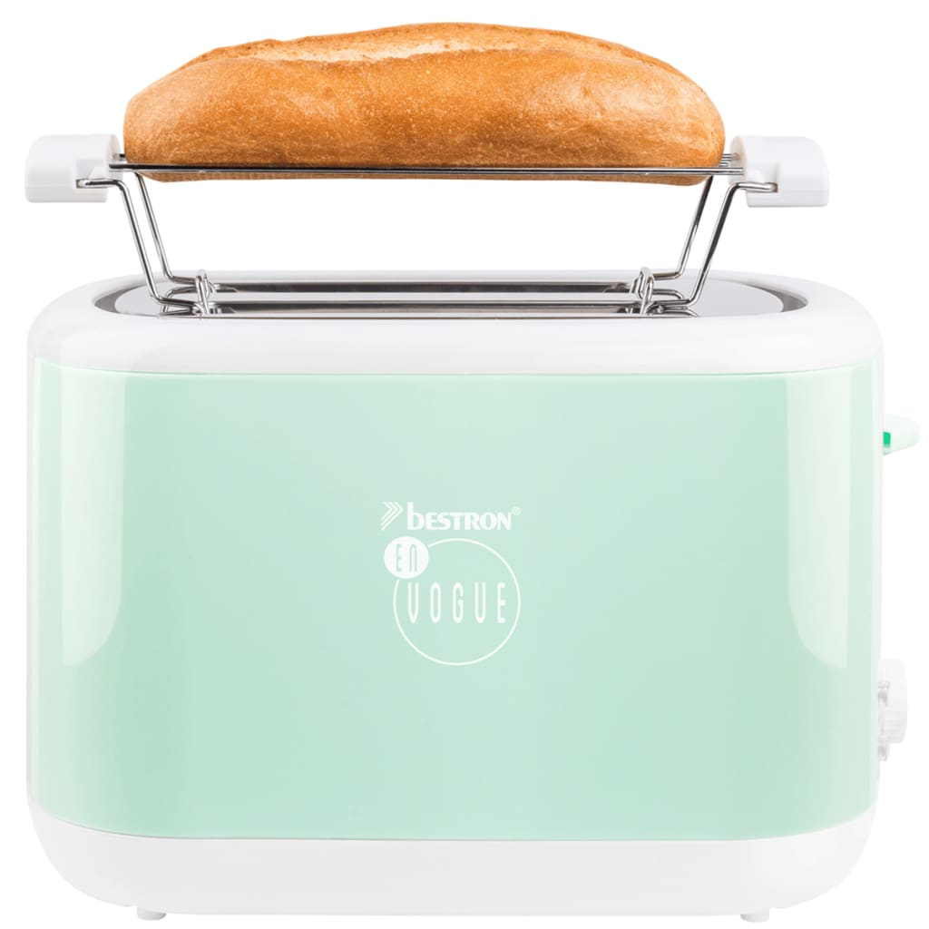 Scegli Il Colore Verde Menta Cucina : Bestron tostapane w verde menta ats evm vidaxl