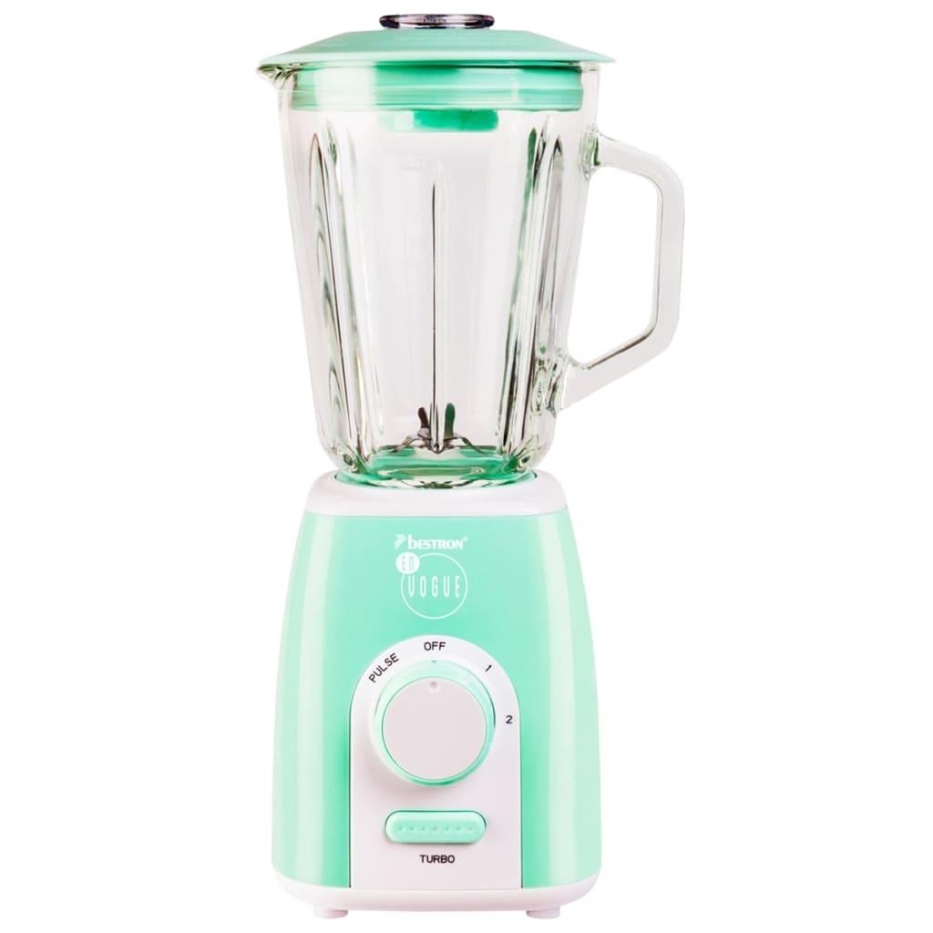 Scegli Il Colore Verde Menta Cucina : Bestron frullatore l w verde menta abl evm