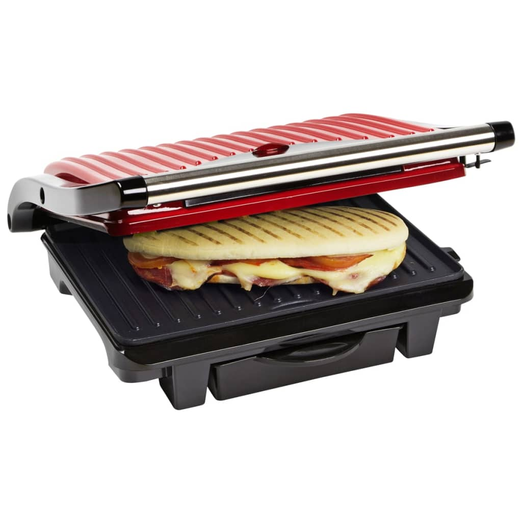 Bestron Panini grill 1000 W Hot Red ASW113R