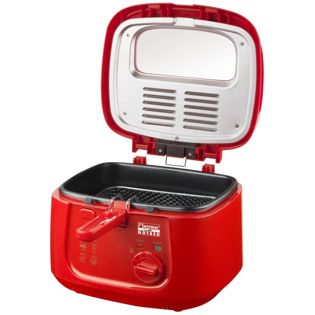Afbeelding van Bestron Frituurpan 2,5 L 1800 W hot red ADF4000HR