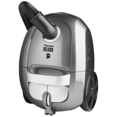 bestron staubsauger deluxo 850 w grau abg700sge zum. Black Bedroom Furniture Sets. Home Design Ideas