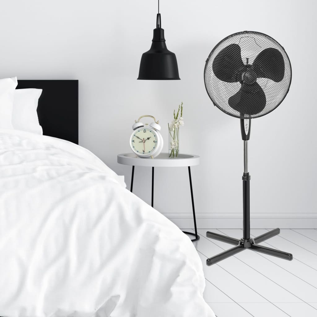 Bestron ASV45ZR álló ventilátor távirányítóval 45 cm W fekete