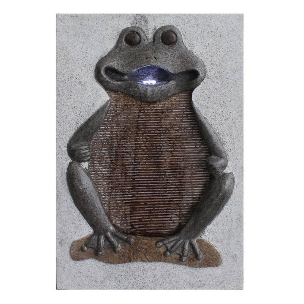 acheter velda fontaine murale grenouille gris 850803 pas cher. Black Bedroom Furniture Sets. Home Design Ideas