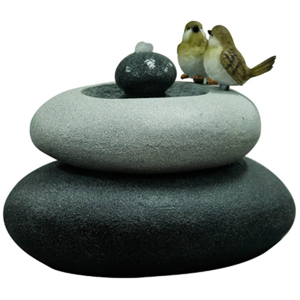 acheter velda fontaine de jardin oiseaux sur pierre double. Black Bedroom Furniture Sets. Home Design Ideas
