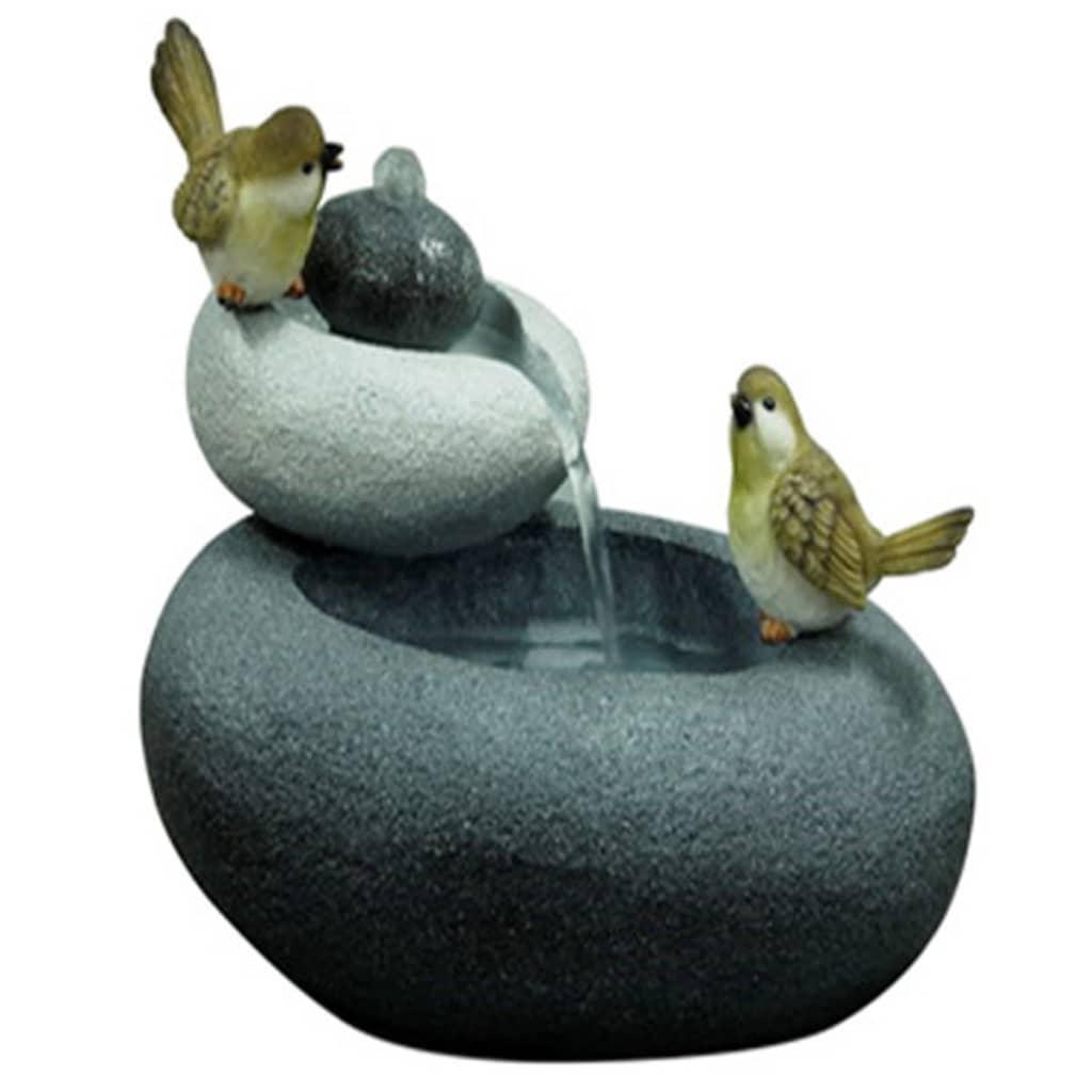 Velda gartenbrunnen mit deko vogelpaar s 850845 g nstig for Deko gartenbrunnen