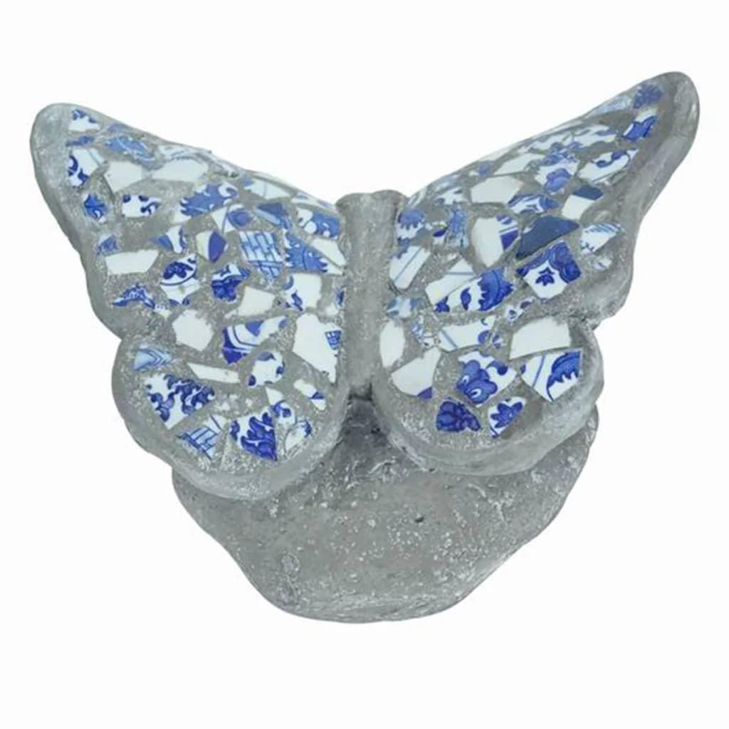 Afbeelding van Velda Tuinstandbeeld vlinder mozaïek polyresin 850970