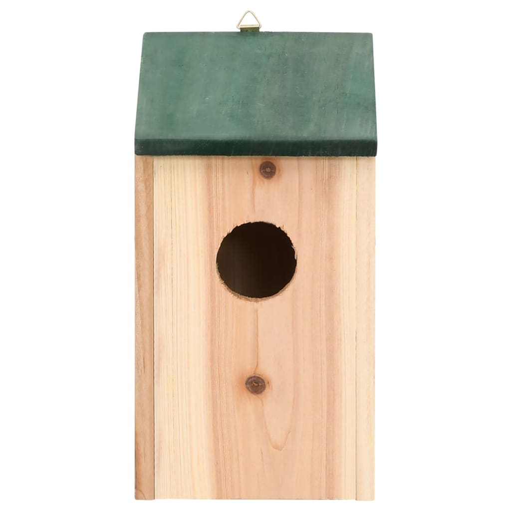 Bird House Nesting Box Wood 4 Pcs VidaXL.com. Full resolution‎  image, nominally Width 1024 Height 1024 pixels, image with #63412B.