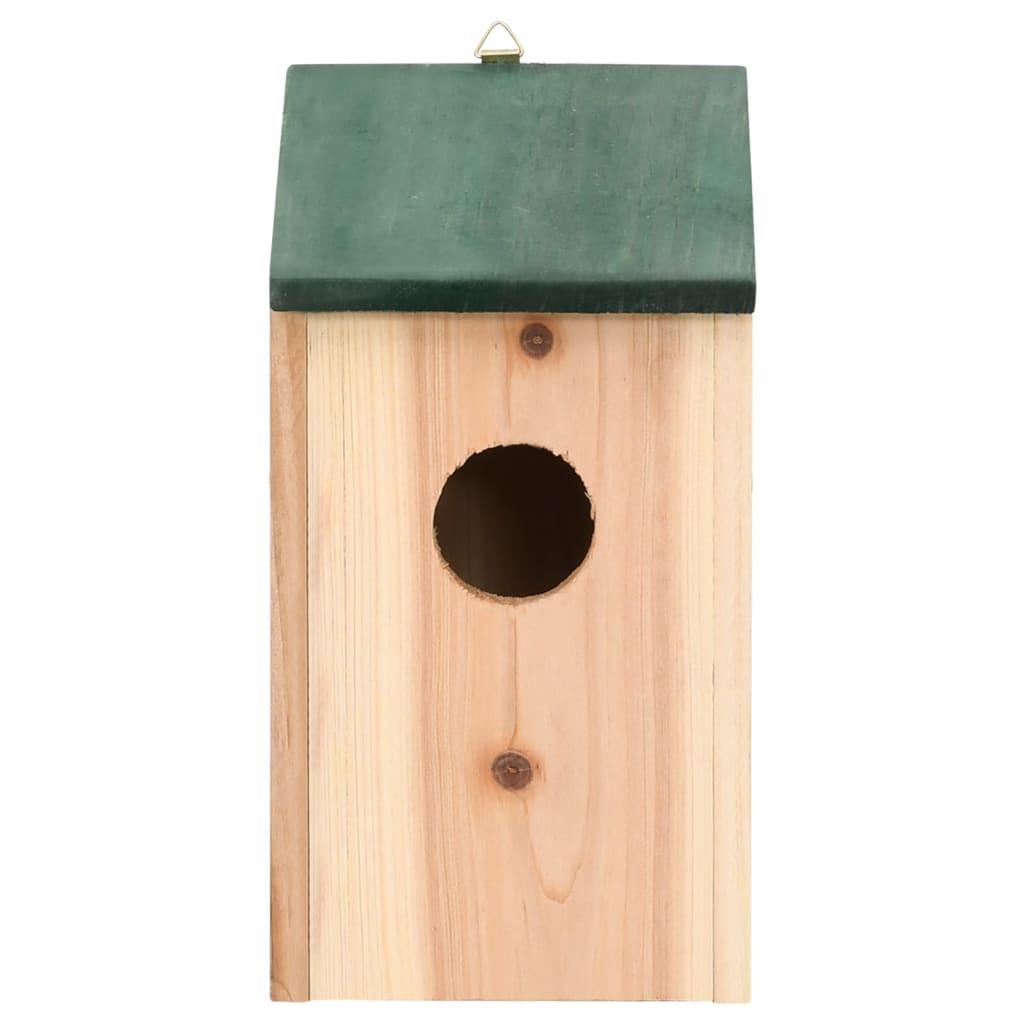 Casa de Passaros Caixa de Nidificação feita de Madeira 4 peças[3/3] #63412B 1024x1024