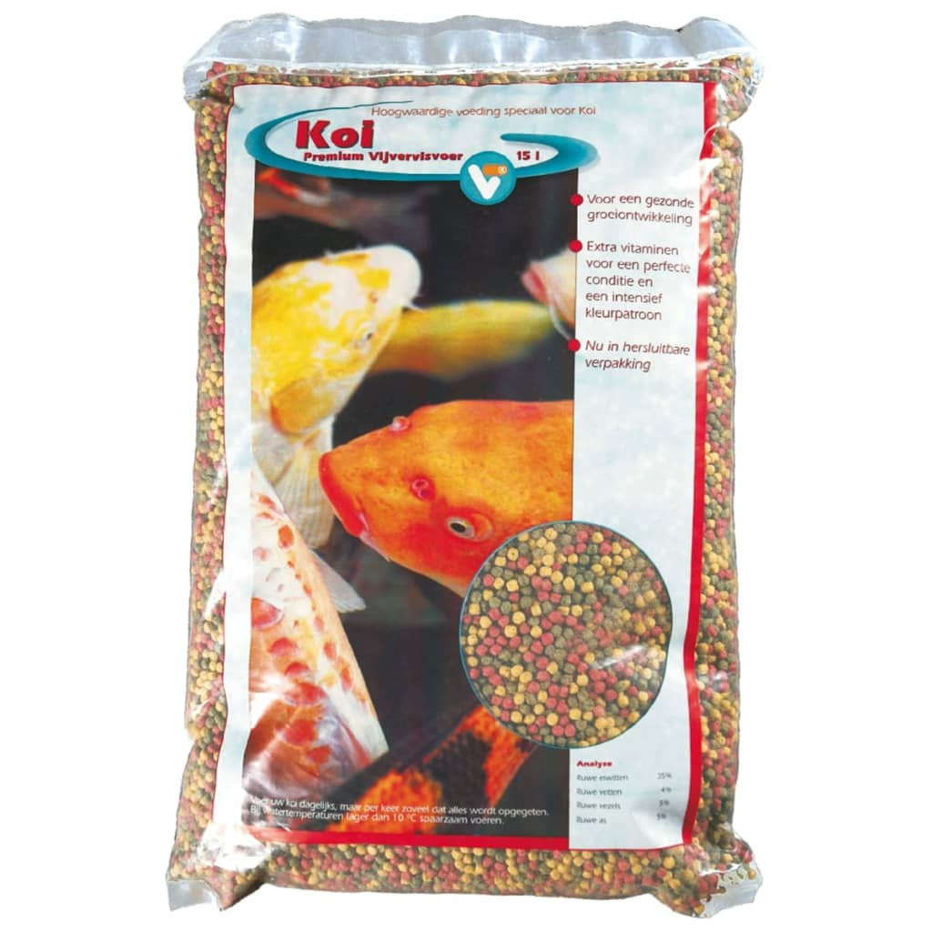 Velda vt koi fish food premium 15 l 144450 for Koi fish food for sale