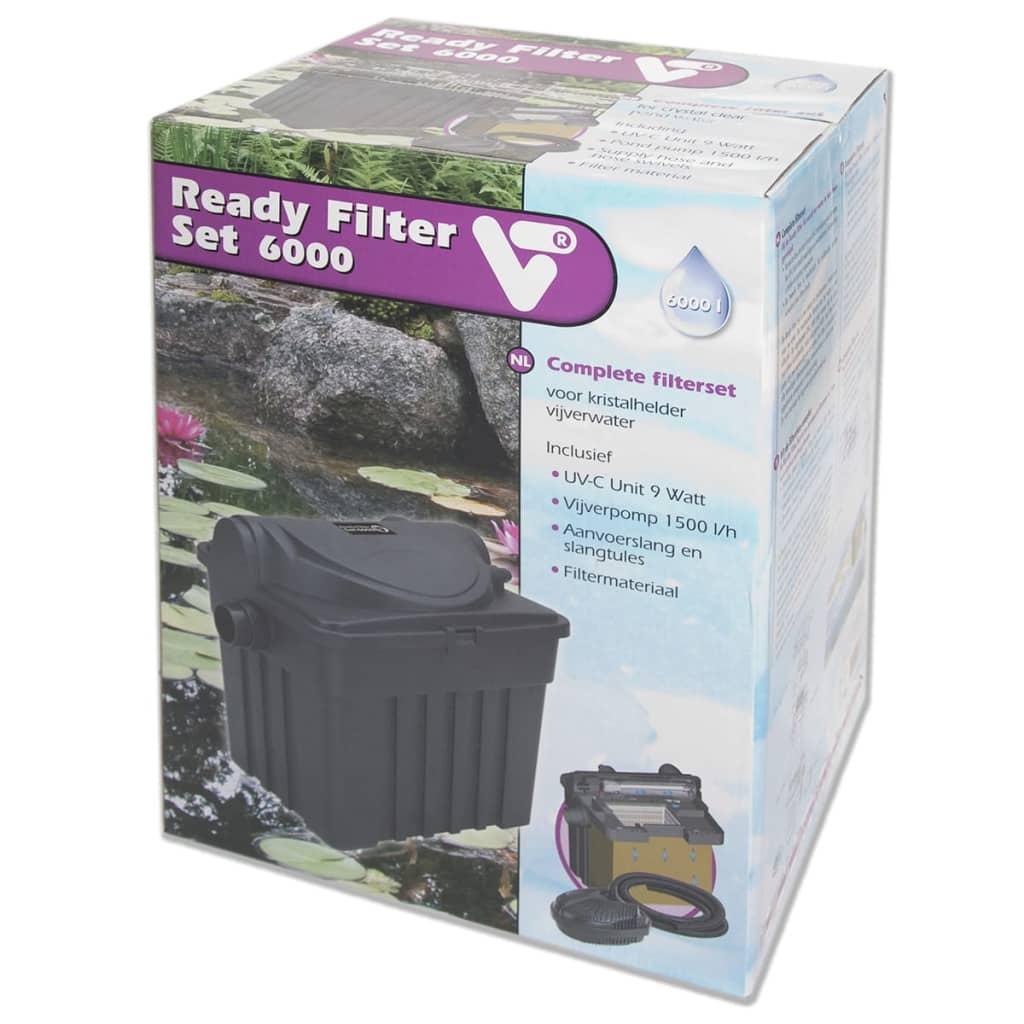 Articoli per velda set filtro ready per laghetti 6000 9 w for Articoli per laghetti