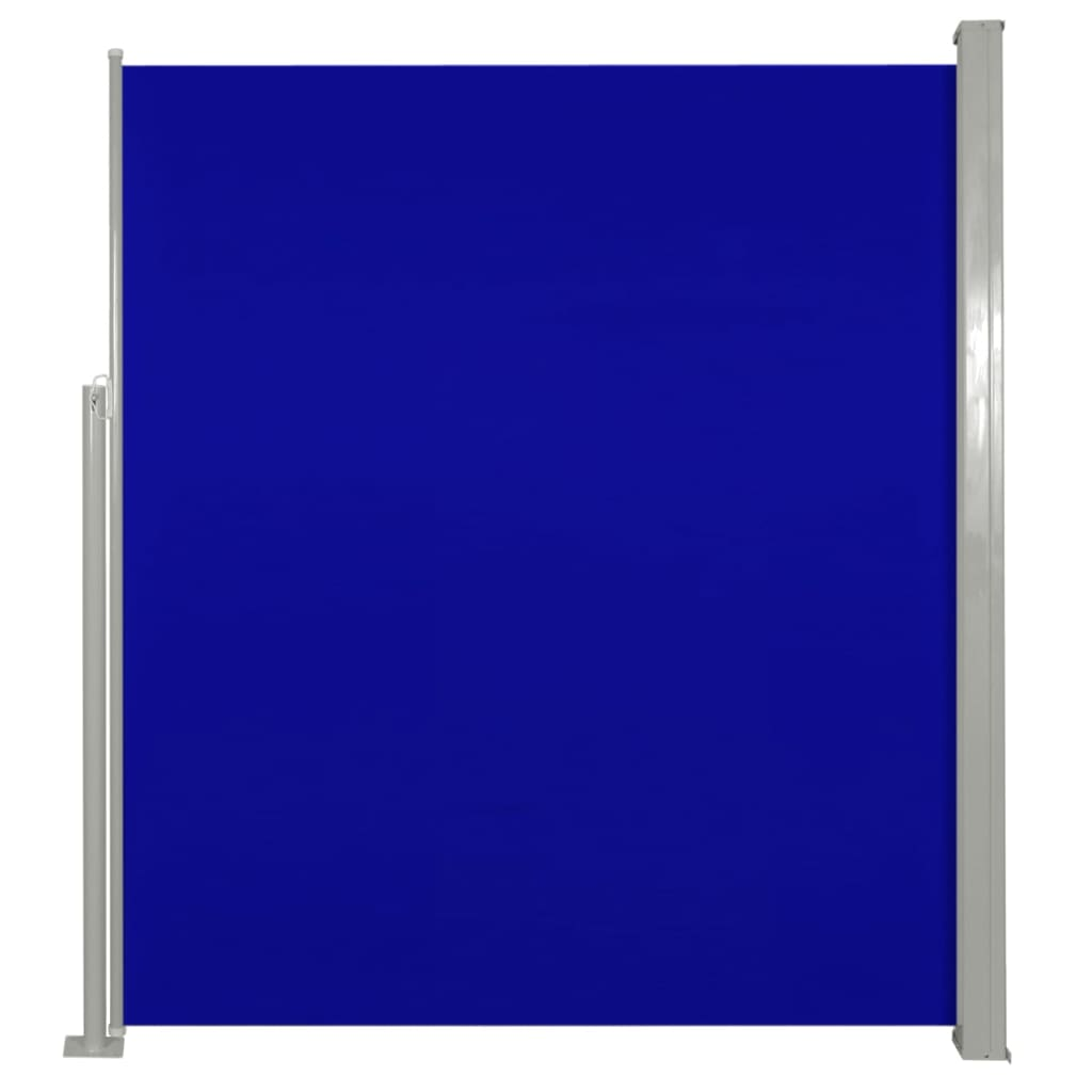 Uittrekbaar wind--zonnescherm 160 x 300 cm (blauw)