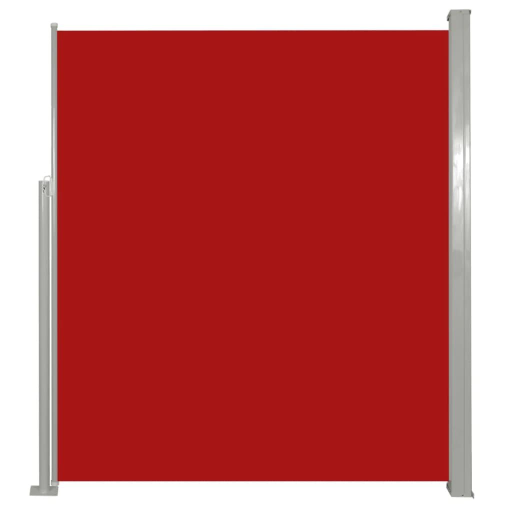 Uittrekbaar wind--zonnescherm 160 x 300 cm (rood)