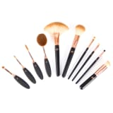 Rio Ten Piece Cosmetic Brush Set BRCO