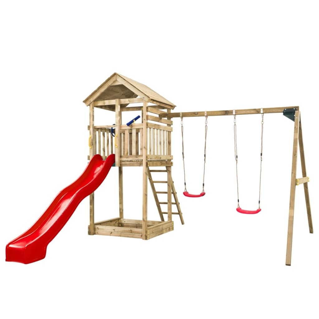 Swing King Speeltoestel Daan Rode Glijbaan 7888006.rd