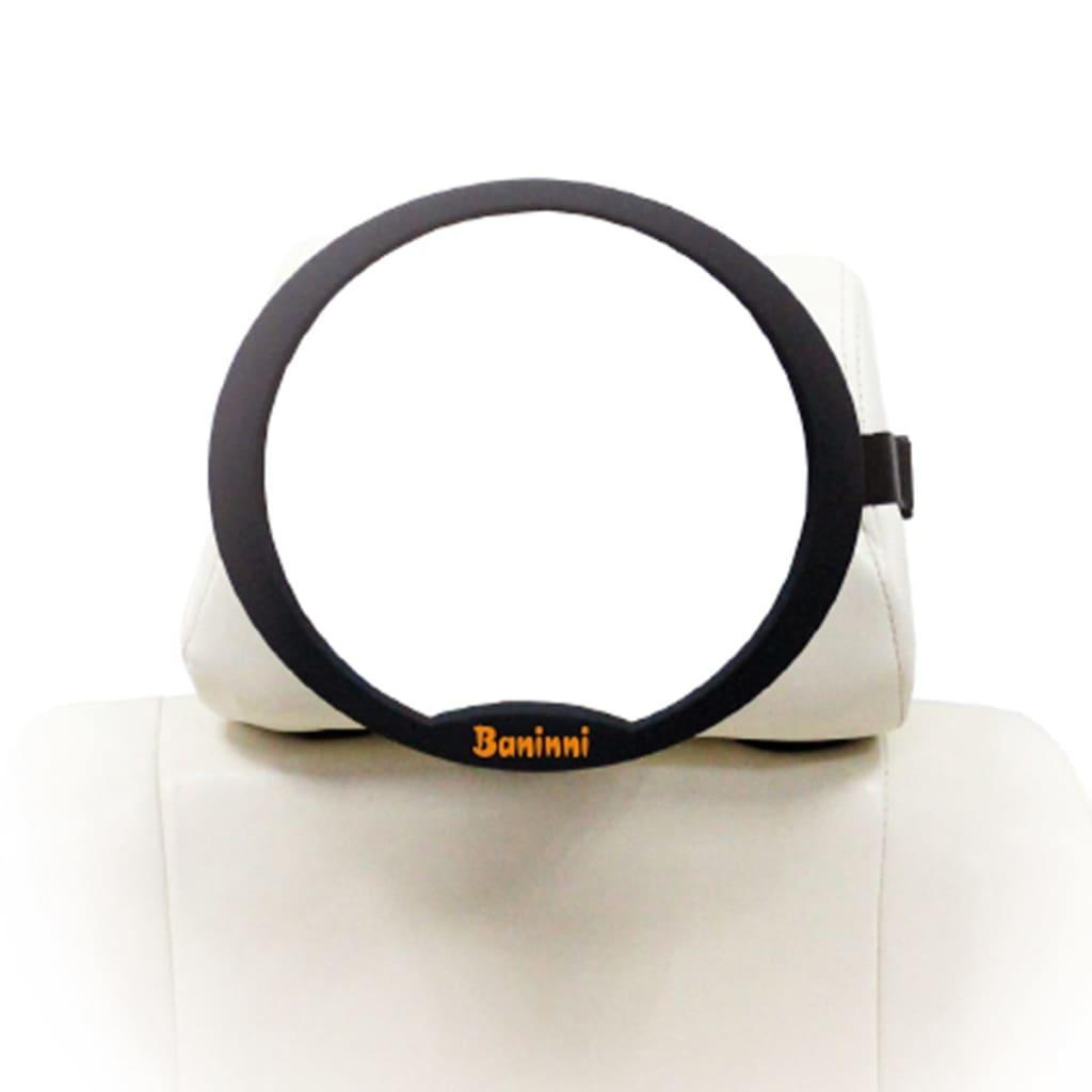 Afbeelding van Baninni Achterbank spiegel Riflessi zwart BNCSA003-BK