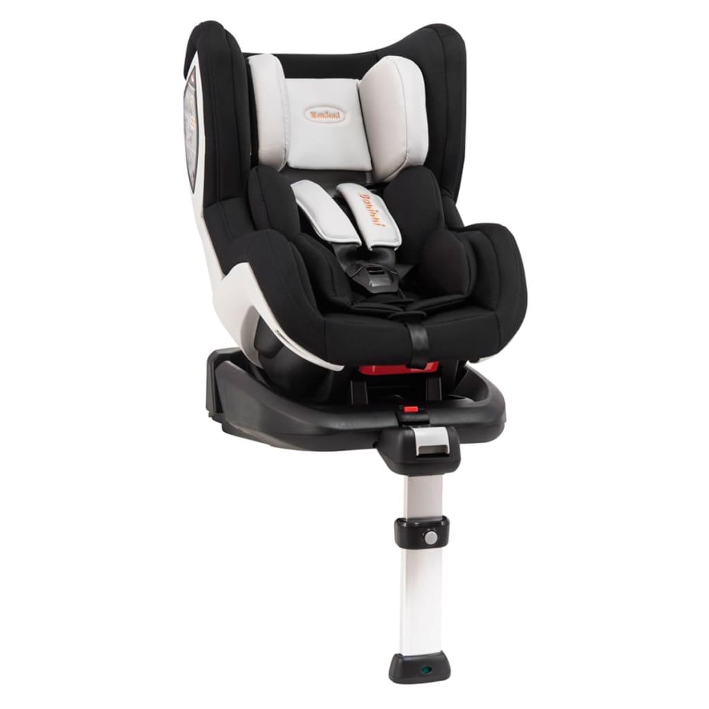 Afbeelding van Baninni Autostoel Impero Isofix 0+1 zwart en wit BNCS002-WHBK