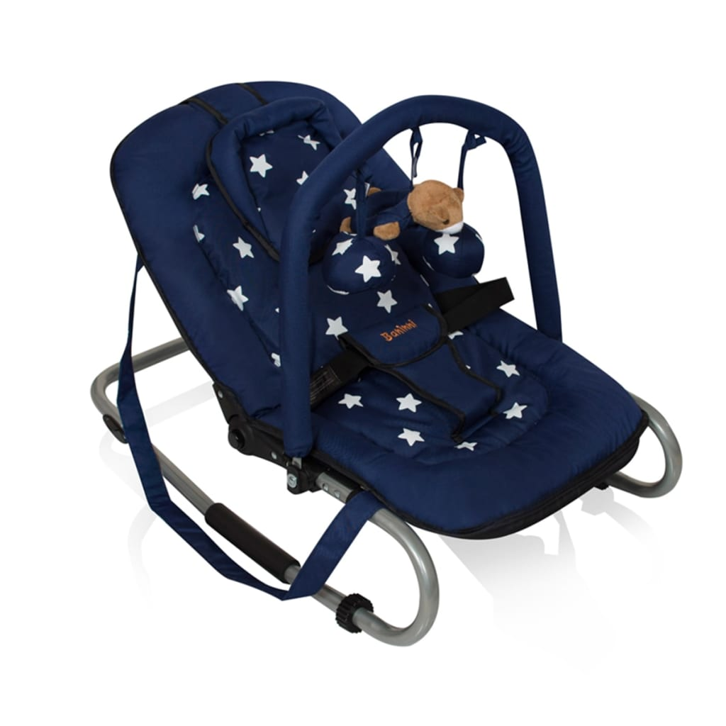 acheter baninni transat pour b b relax classic bleu toile pas cher. Black Bedroom Furniture Sets. Home Design Ideas