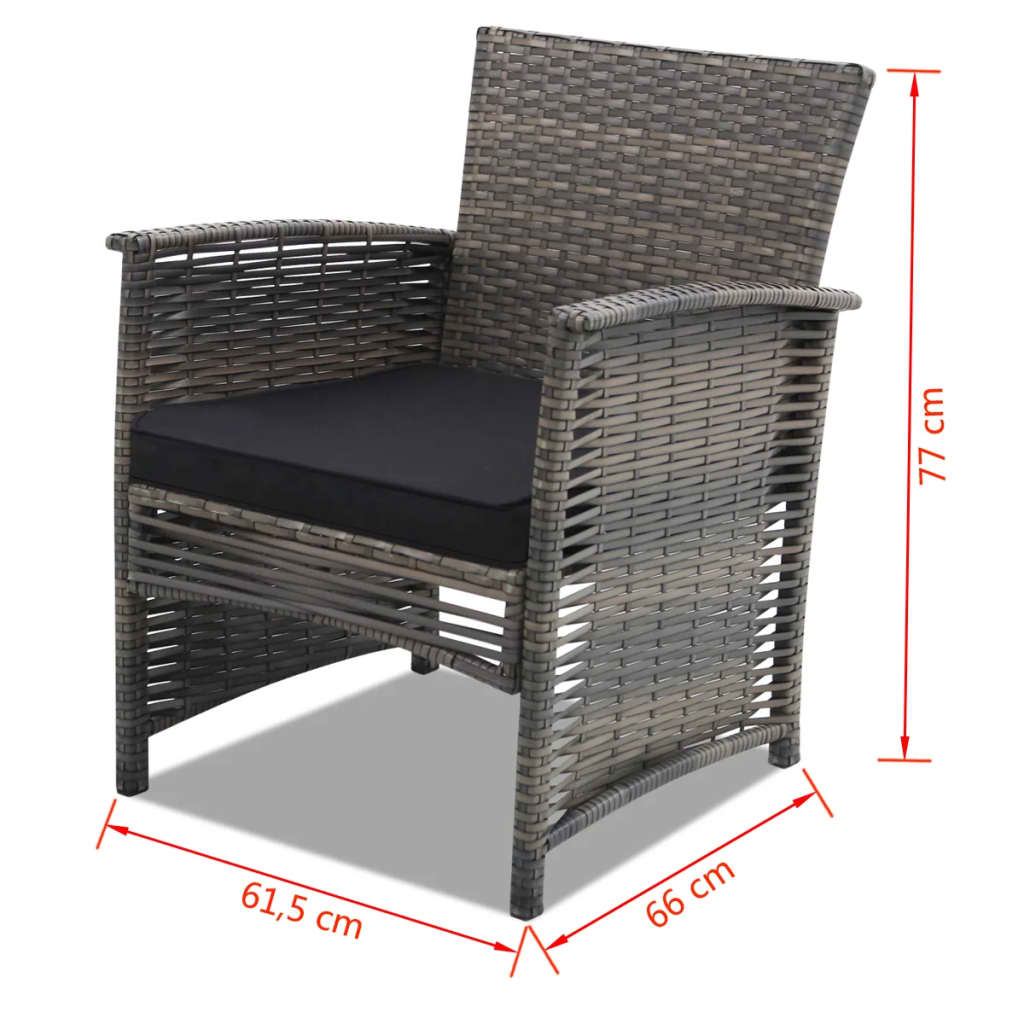 rattan gartenm bel gartenset sitzgruppe gartengarnitur. Black Bedroom Furniture Sets. Home Design Ideas