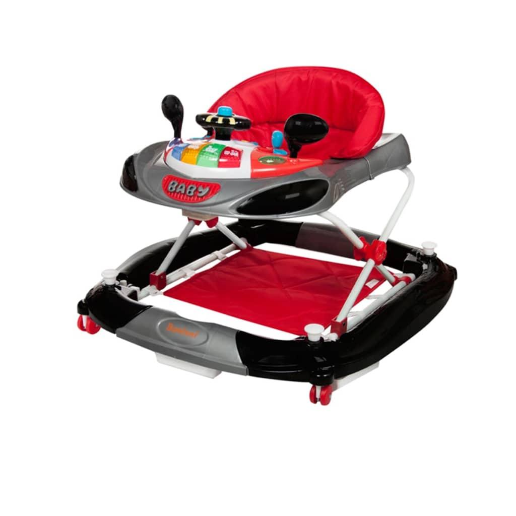 Afbeelding van Baninni Loopstoel 2-in-1 Rosco rood en zwart BNBW004-CHBK