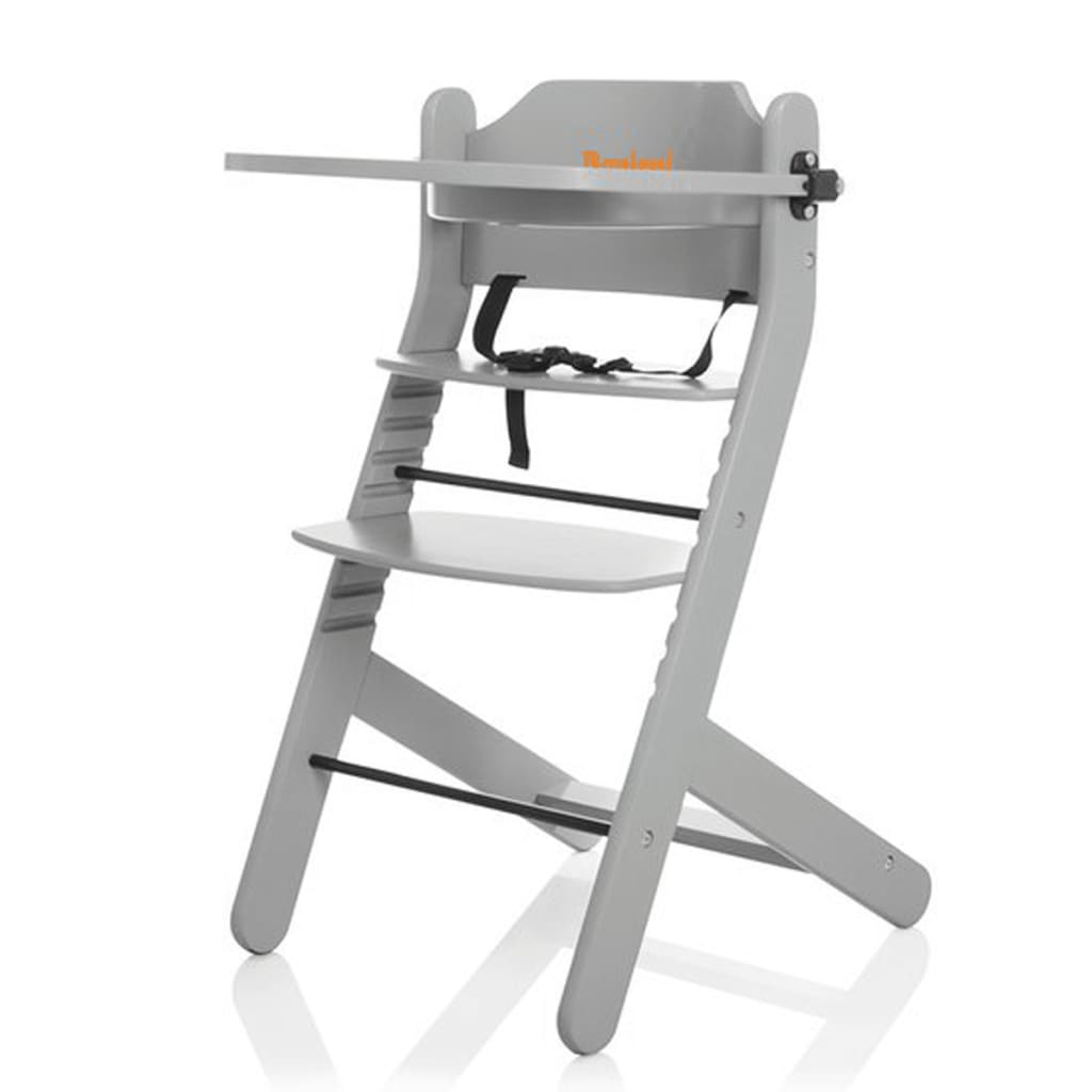 Afbeelding van Baninni Kinderstoel Dolce Mio lichtgrijs BNDT003-LGY
