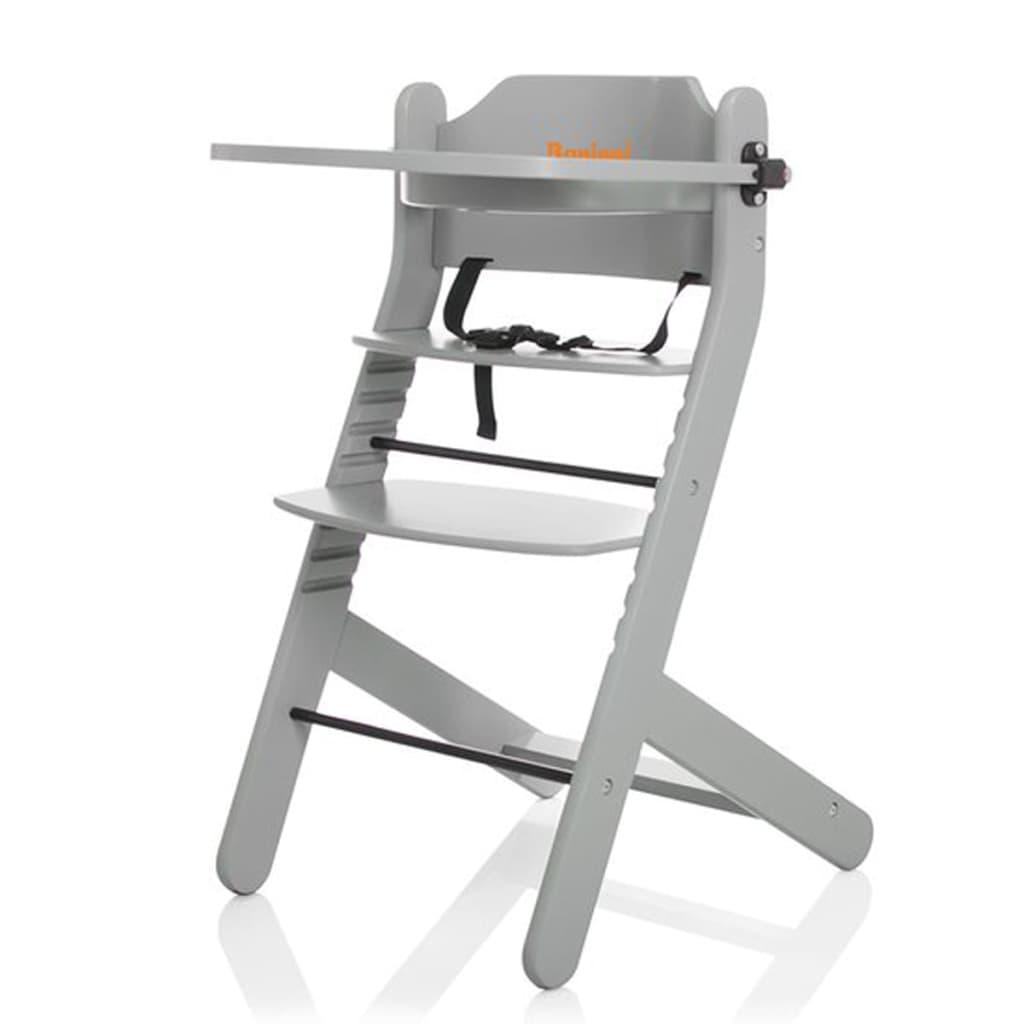 acheter baninni chaise haute dolce mio gris clair pas cher. Black Bedroom Furniture Sets. Home Design Ideas