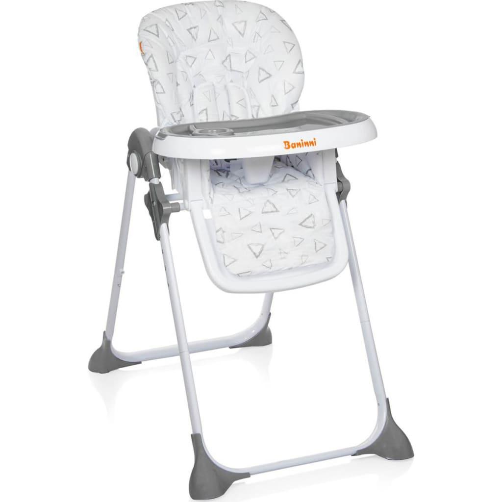 Afbeelding van Baninni Kinderstoel inklapbaar Olivo grijs BNDT007-GY