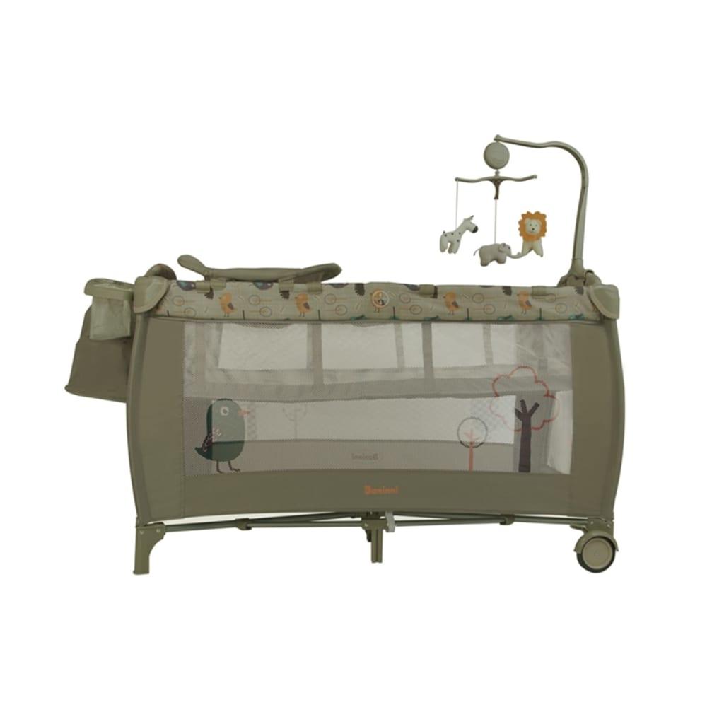 acheter baninni lit pliant nido birdy lux 126 x 66 x 80 cm pas cher. Black Bedroom Furniture Sets. Home Design Ideas