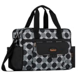 Baninni Diaper Bag Amalfi Black Circle BNDB005-BKCL