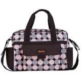 Baninni Diaper Bag Amalfi Pink Circle BNDB005-PKCL