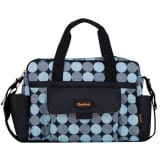 Baninni Diaper Bag Amalfi Blue Circle BNDB005-BLCL