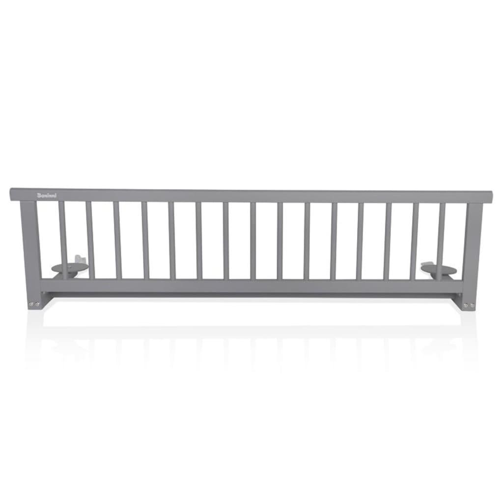 Baninni sponda per letto rocco grigio legno bnbta015 gy - Barriere letto bimbi ...