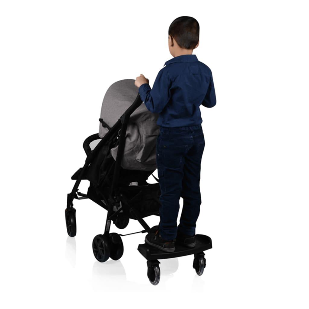 acheter baninni planche pour enfant pour poussette passo noir bnsta005 bk pas cher. Black Bedroom Furniture Sets. Home Design Ideas