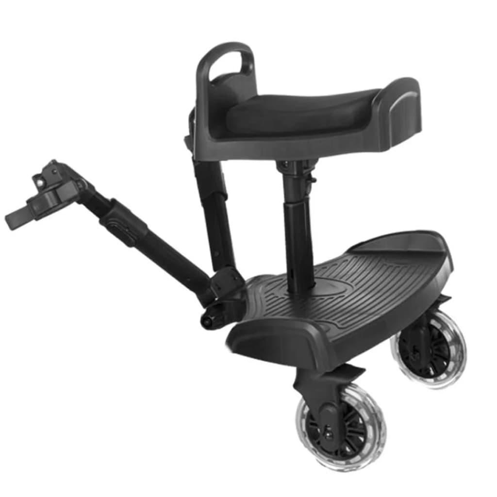 Afbeelding van Baninni Meerijdplankje voor kinderwagen Passo zwart BNSTA005-BK